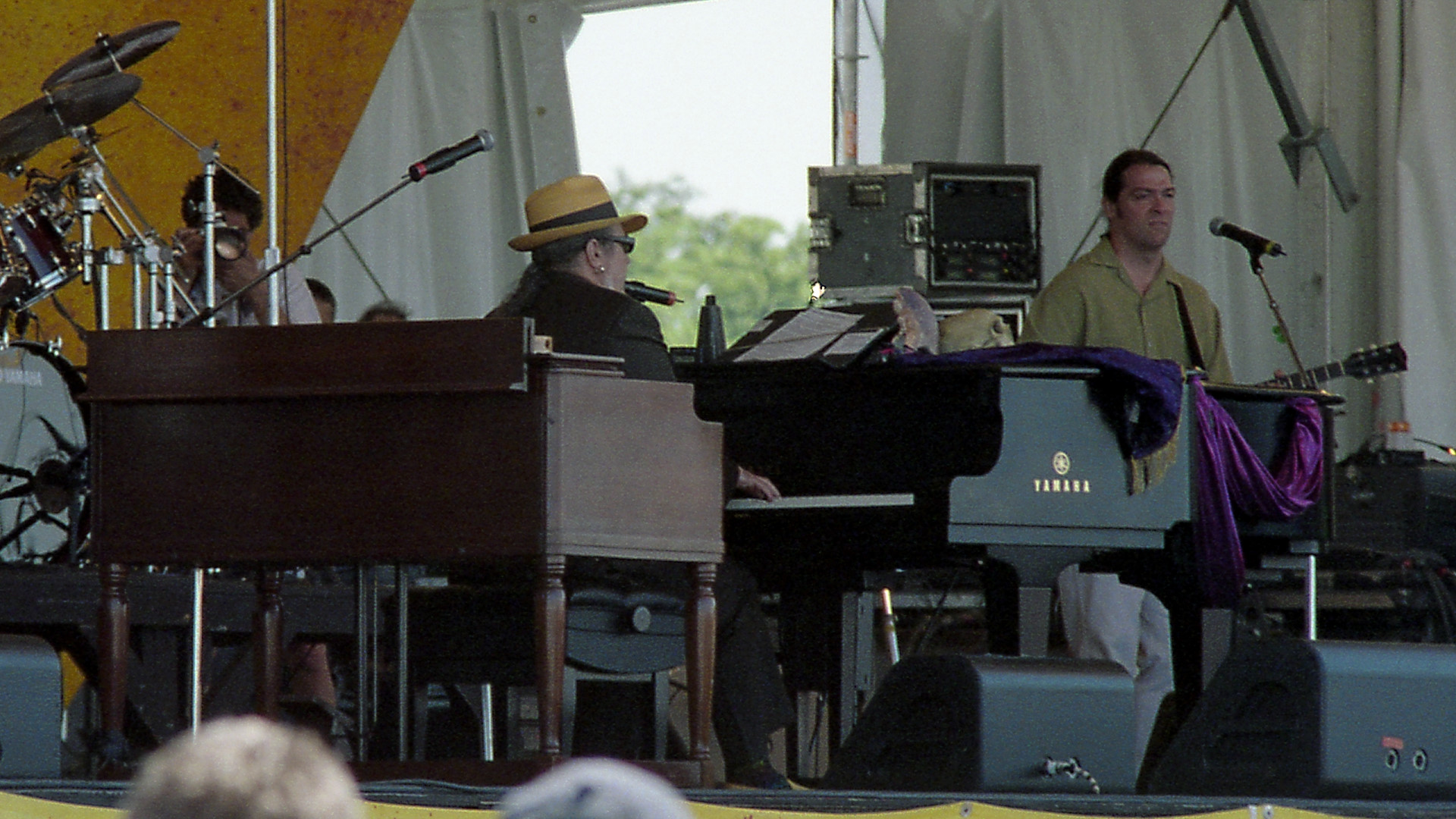 Dr. John at Jazz Fest 2003