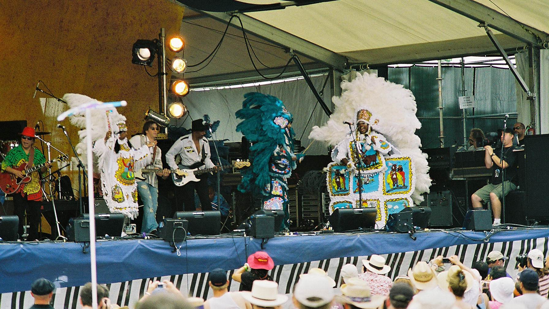 Bo Dollisn at Jazz Fest 2006