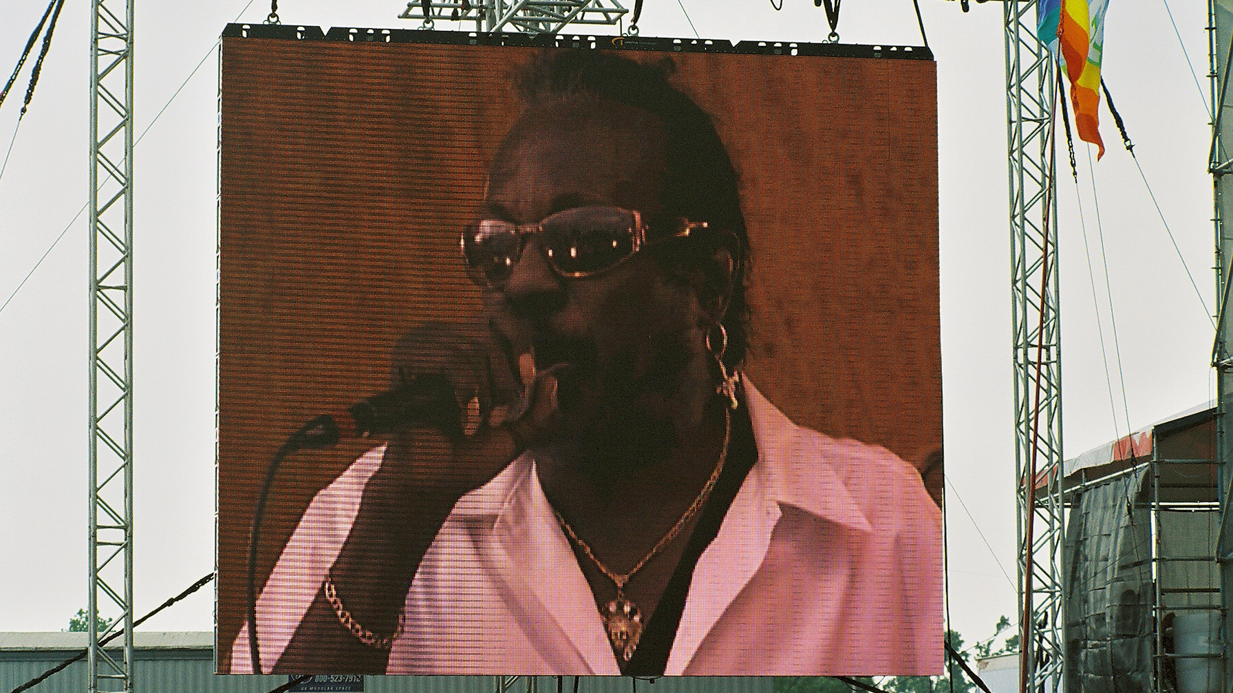Bo Dollis at Jazz Fest 2006