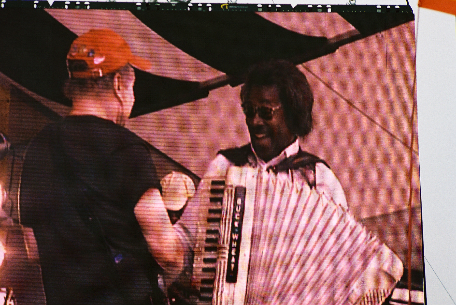 Paul Simon & Buckwheat Zydeco at Jazz Fest 2006