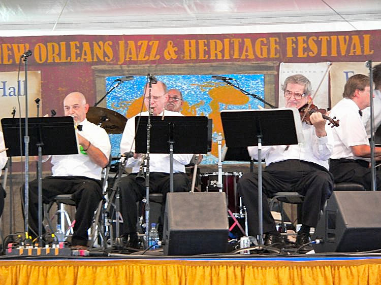 Lars Edegran at Jazz Fest 2006