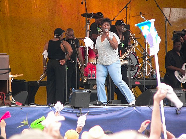 Irma Thomas at Jazz Fest 2006