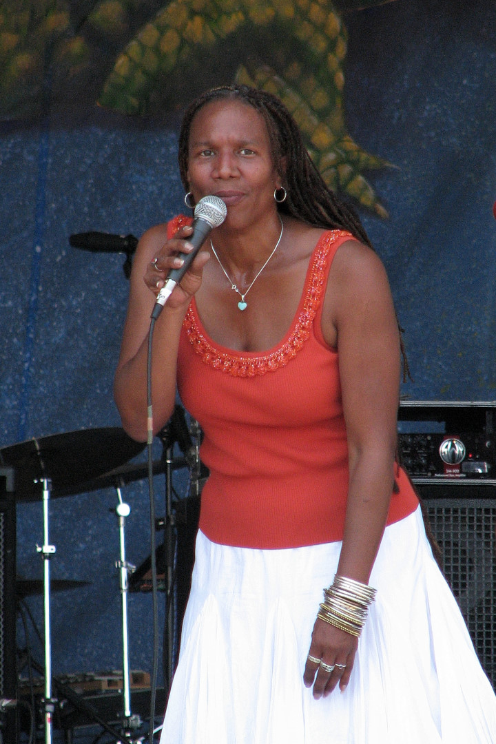 Charmaine Neville Band at Jazz Fest 2007