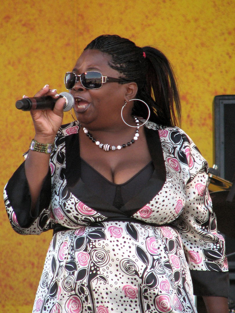Lady Bee at Jazz Fest 2007