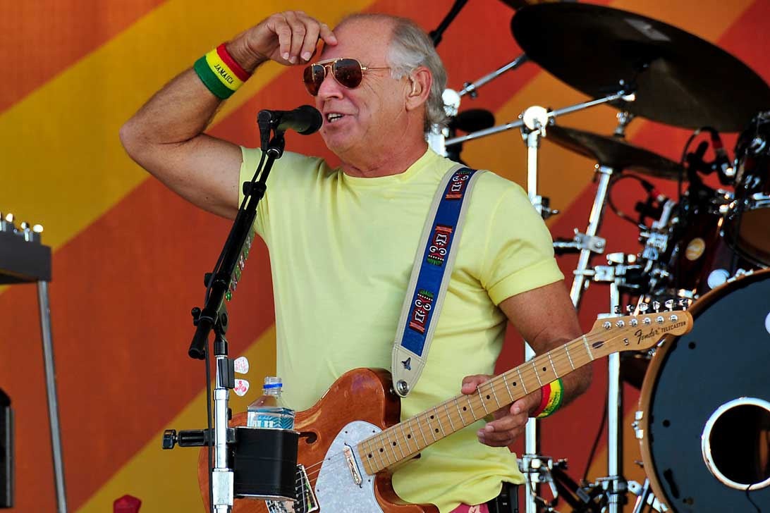 Jimmy Buffett at Jazz Fest 2008