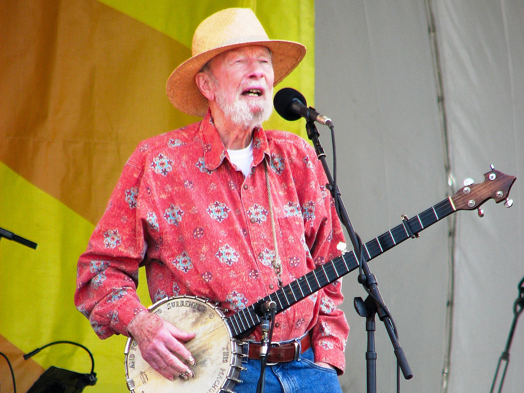 Pete Seeger at Jazz Fest 2009