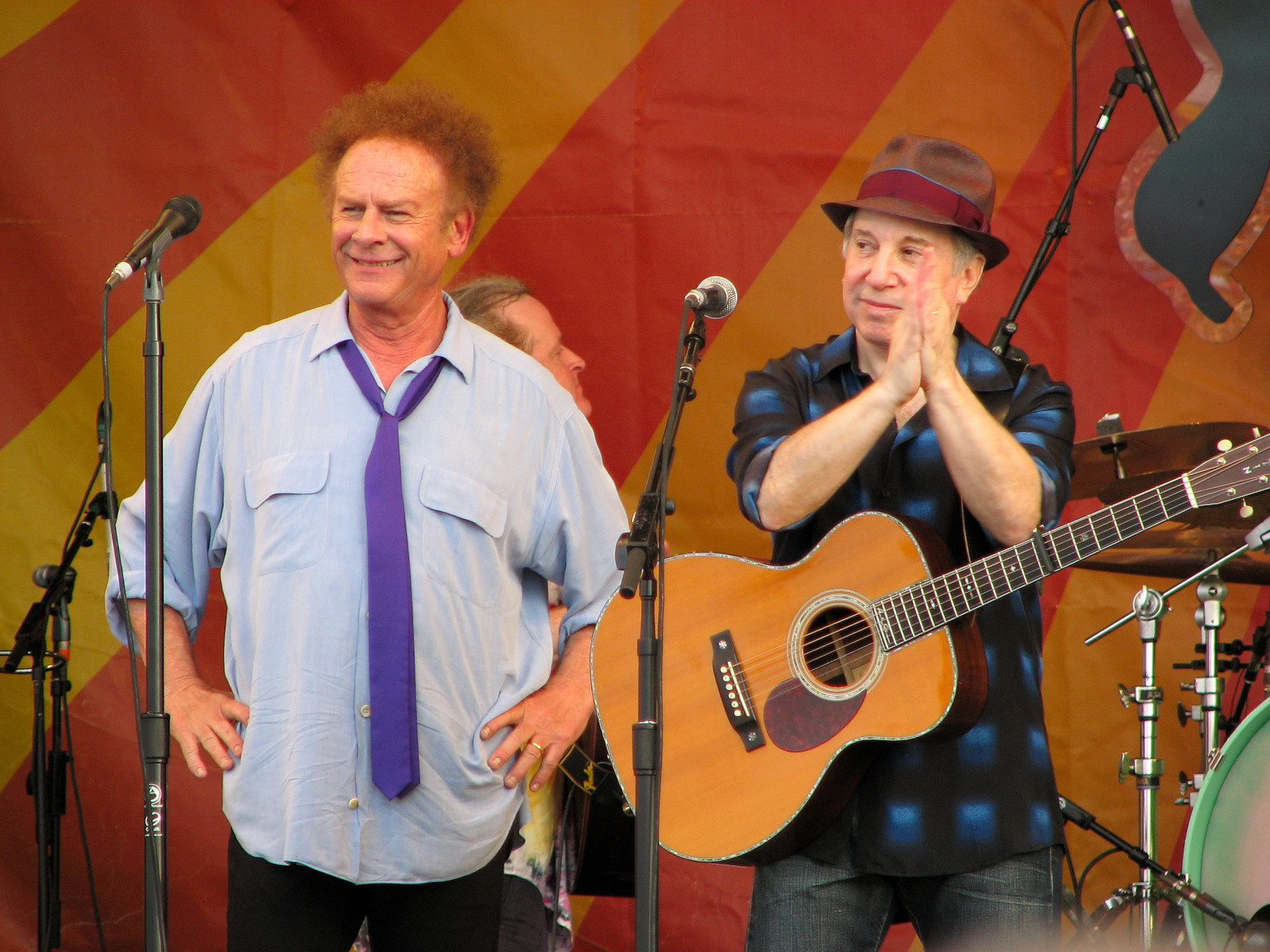 Simon & Garfunkel at Jazz Fest 2010