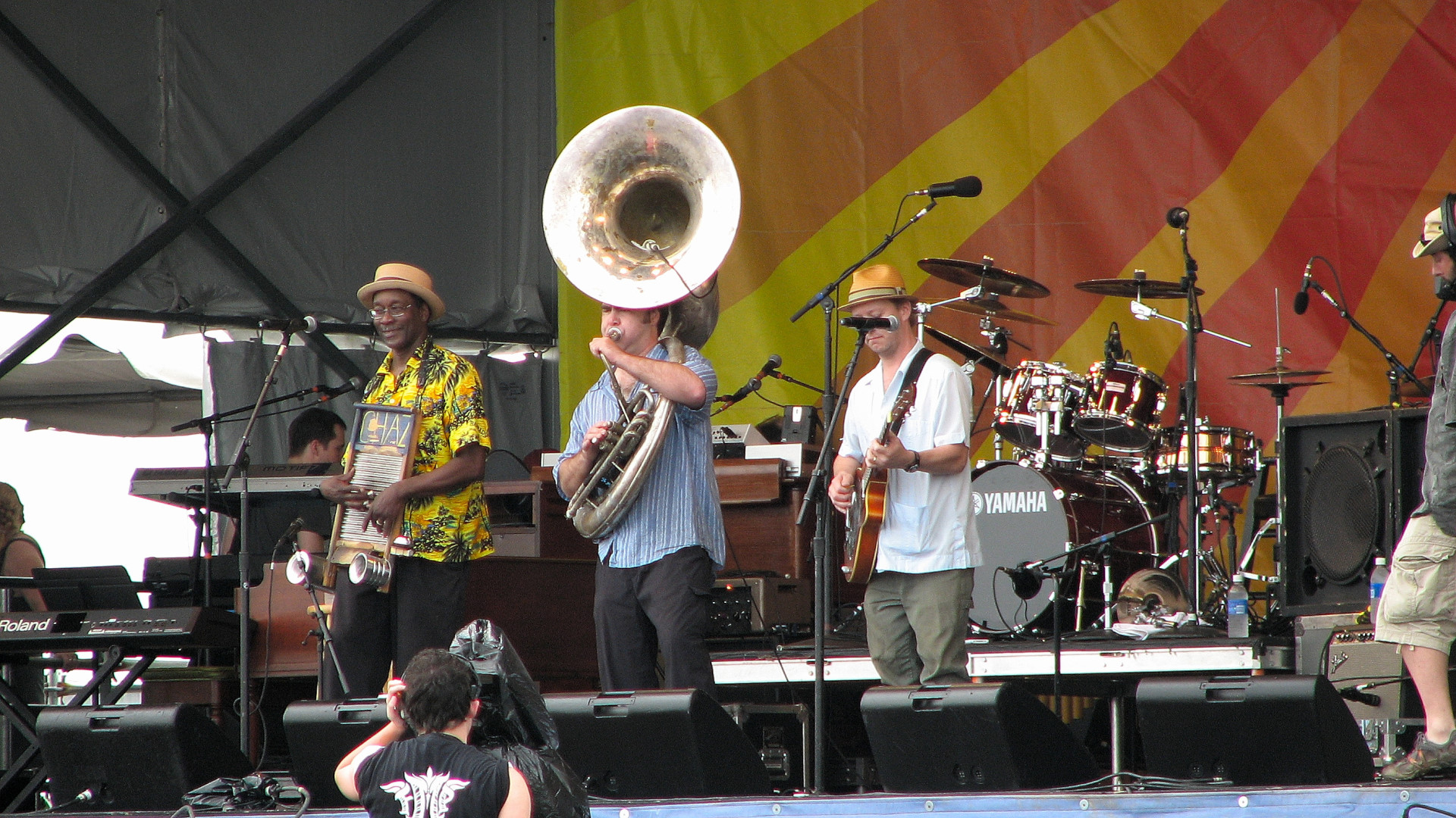 The Tin Men at Jazz Fest 2010