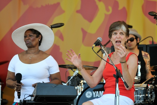 Irma Thomas with Marcia Ball