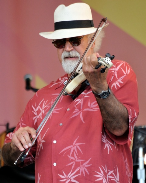 Michael Doucet with the Voice of the Wetlands All Stars at Jazz Fest 2011