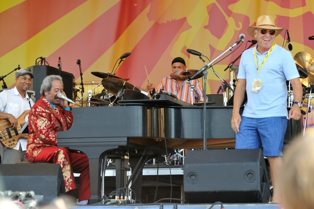 Allen Toussaint and Jimmy Buffett