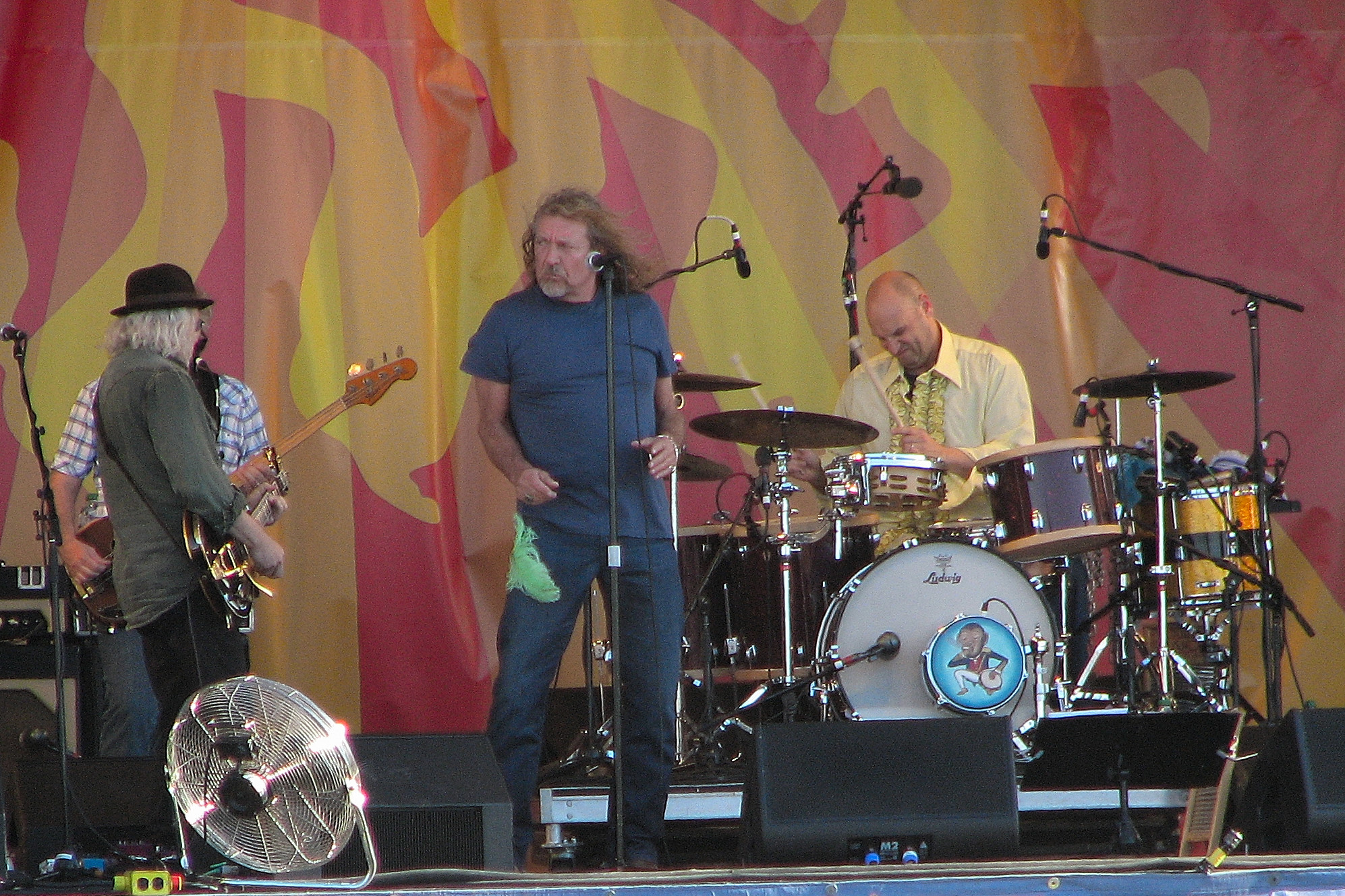 Robert Plant at Jazz Fest 2011