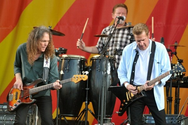 Timothy B. Schmit, Don Henley, and Joe Walsh of The Eagles