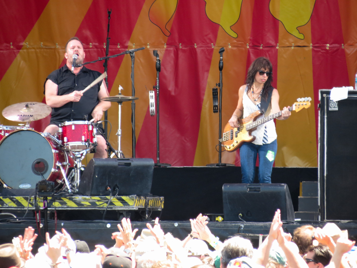 Cowboy Mouth at Jazz Fest 2013