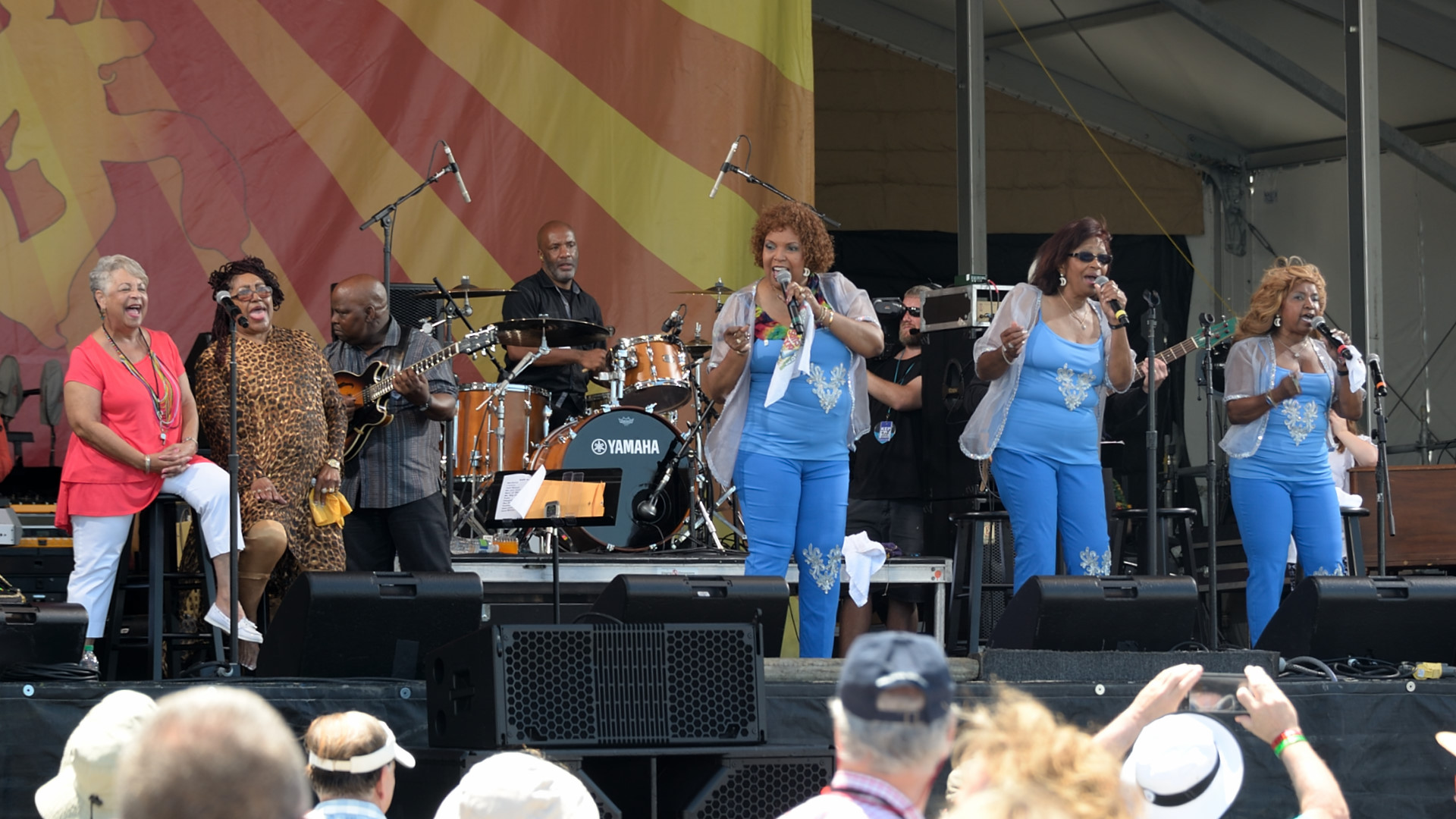 Wanda Rouzan, Jean Knight, and The Dixie Cups