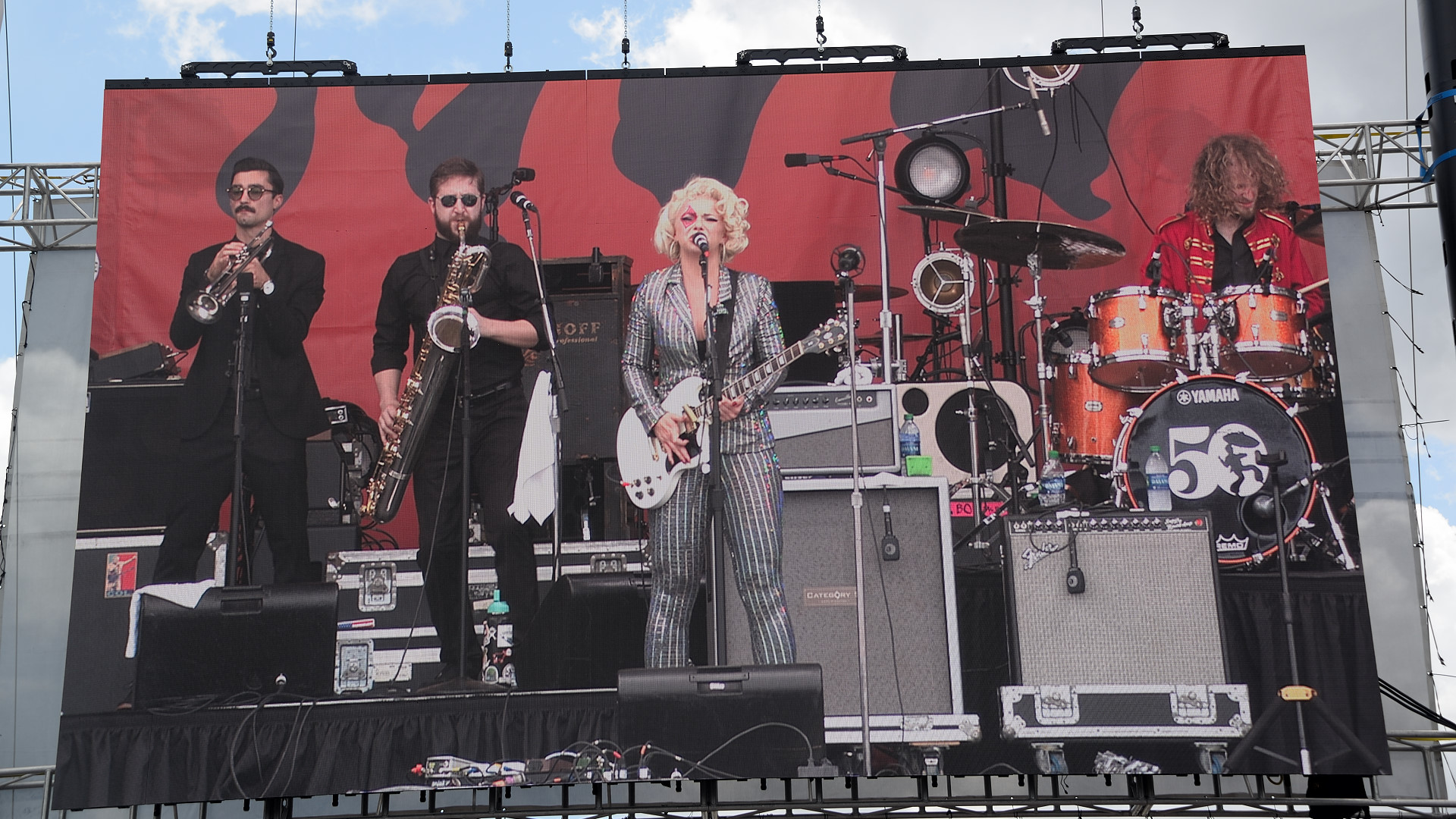 Samantha Fish and her band