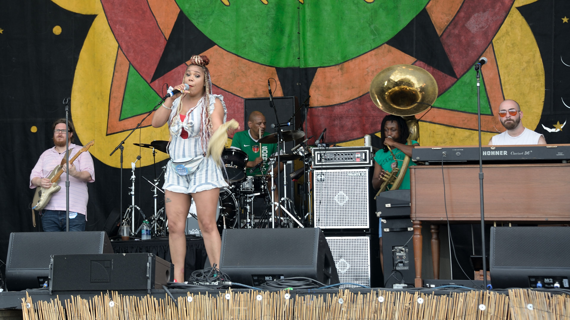 Zena Moses and the Fiya All Stars featuring Gene's Music Machine Band