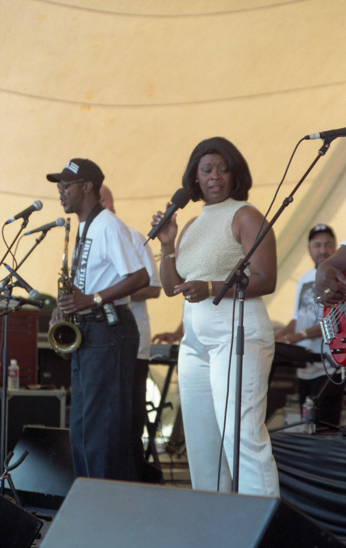 Irma Thomas at Jeff Fest 1999