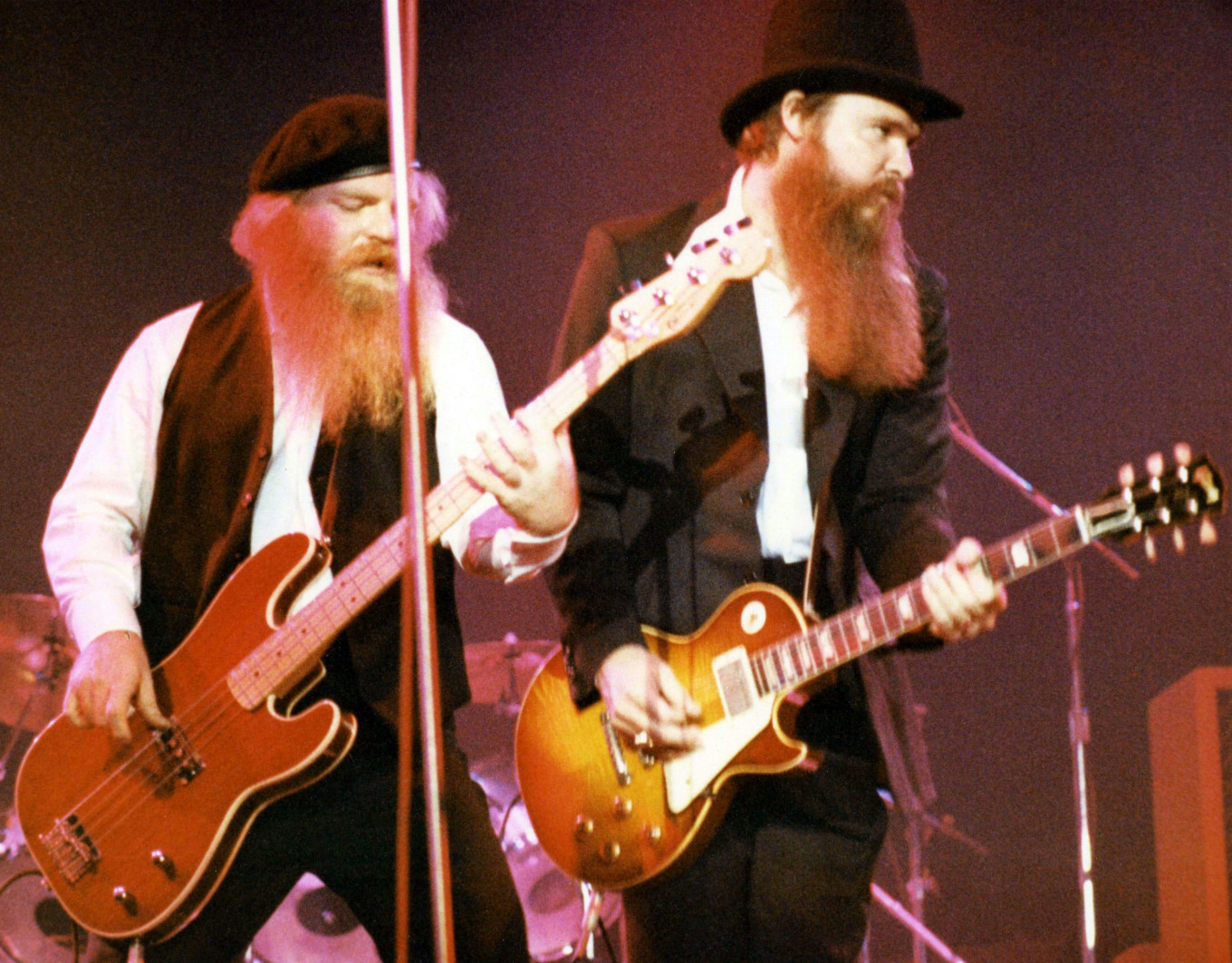 Dusty and Billy of ZZ Top