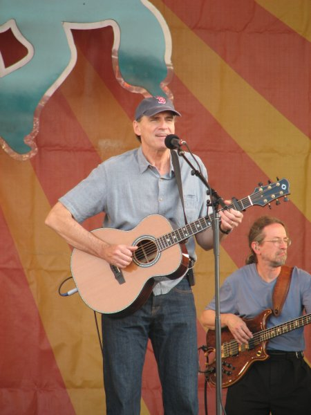 James Taylor at Jazz Fest 2009