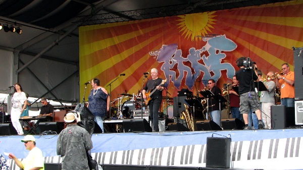 Wiseguys at Jazz Fest 2010
