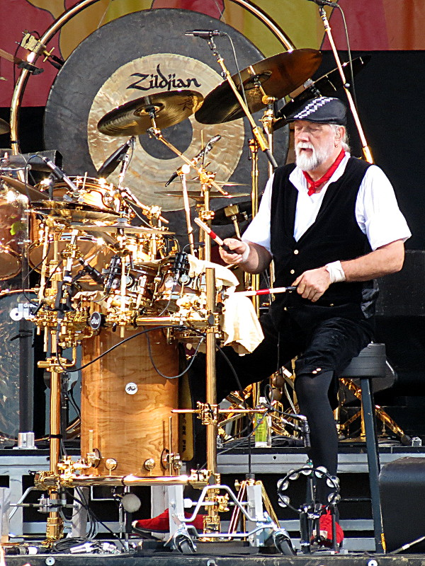 Mick Fleetwood of Fleetwood Mac