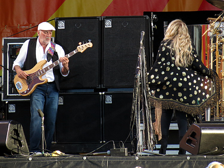 John McVie & Stevie Nicks of Fleetwood Mac