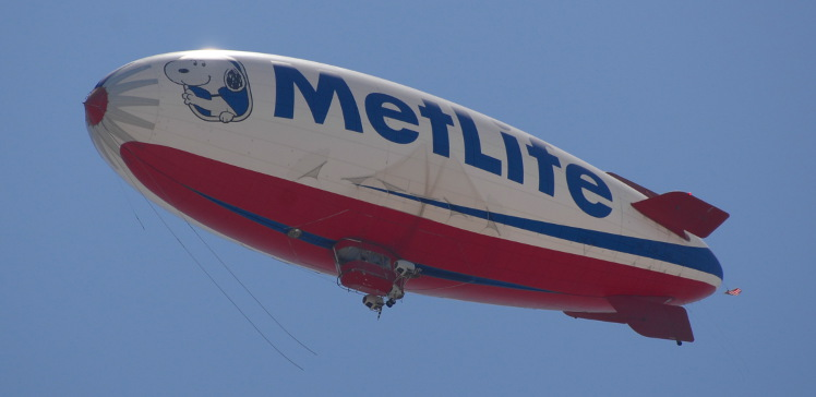 MetLife Blimp
