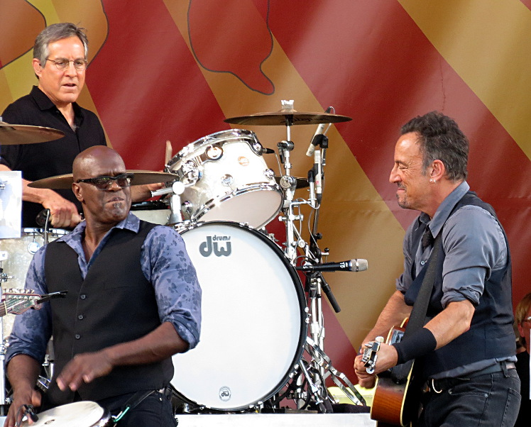Bruce Springsteen & part of the E Street Band