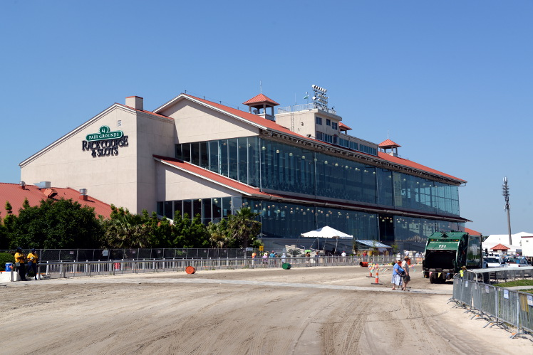 New Orleans Fairgrounds Grandstand