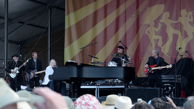 Jerry Lee Lewis and his band