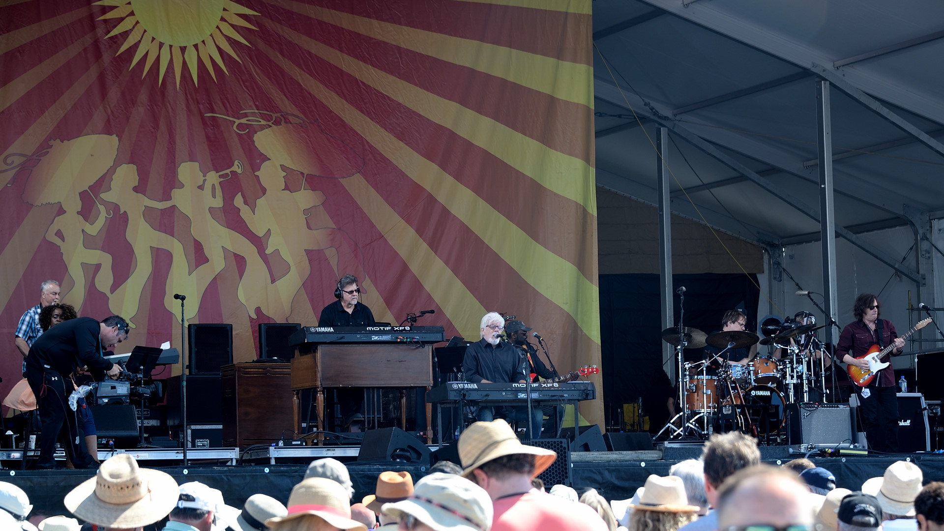 Michael McDonald and his band