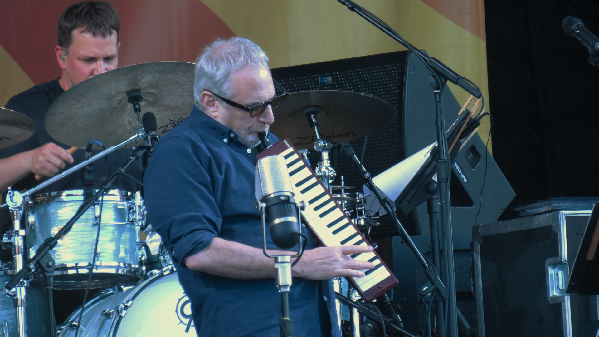 Donald Fagen on Melodica