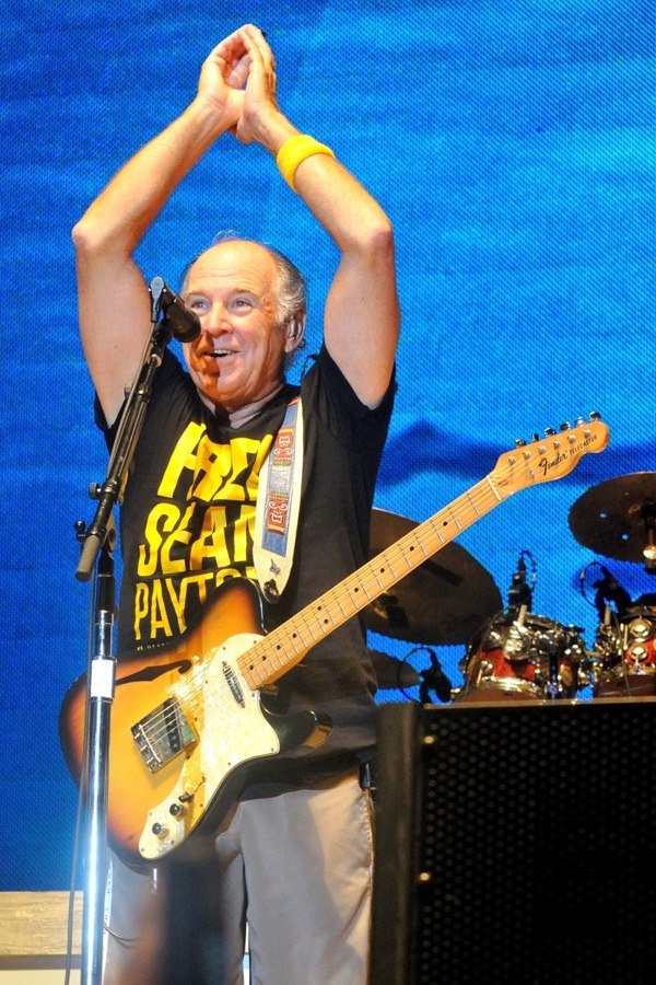 Jimmy Buffett at the Final Four Big Dance