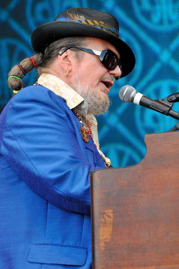 Dr. John at the NCAA Final Four Big Dance Concert