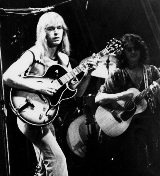 Steve Howe & John Anderson of Yes