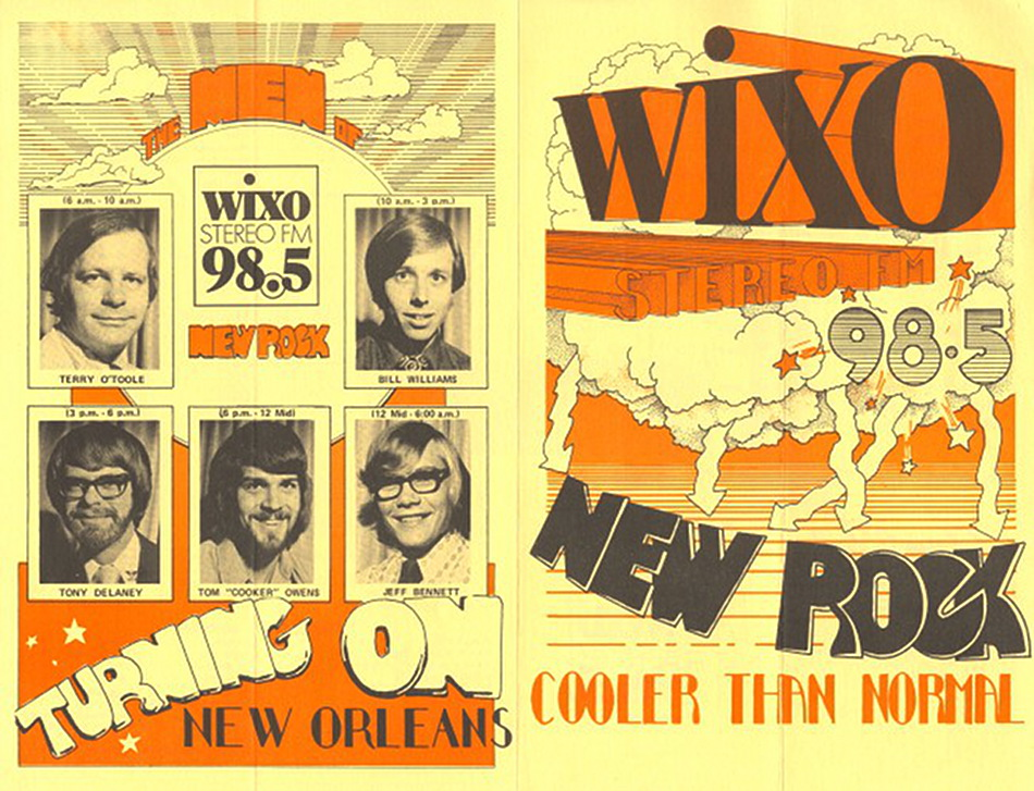 WIXO Survey Front October 27, 1972