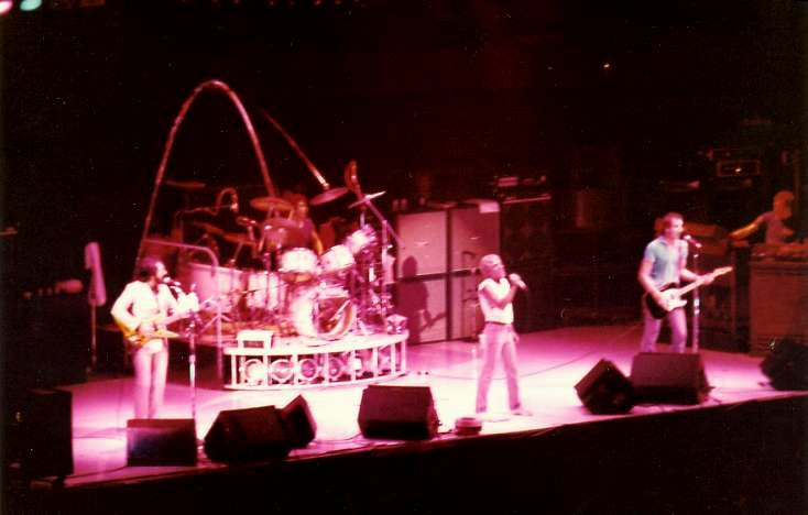 The Who at LSU, 1980